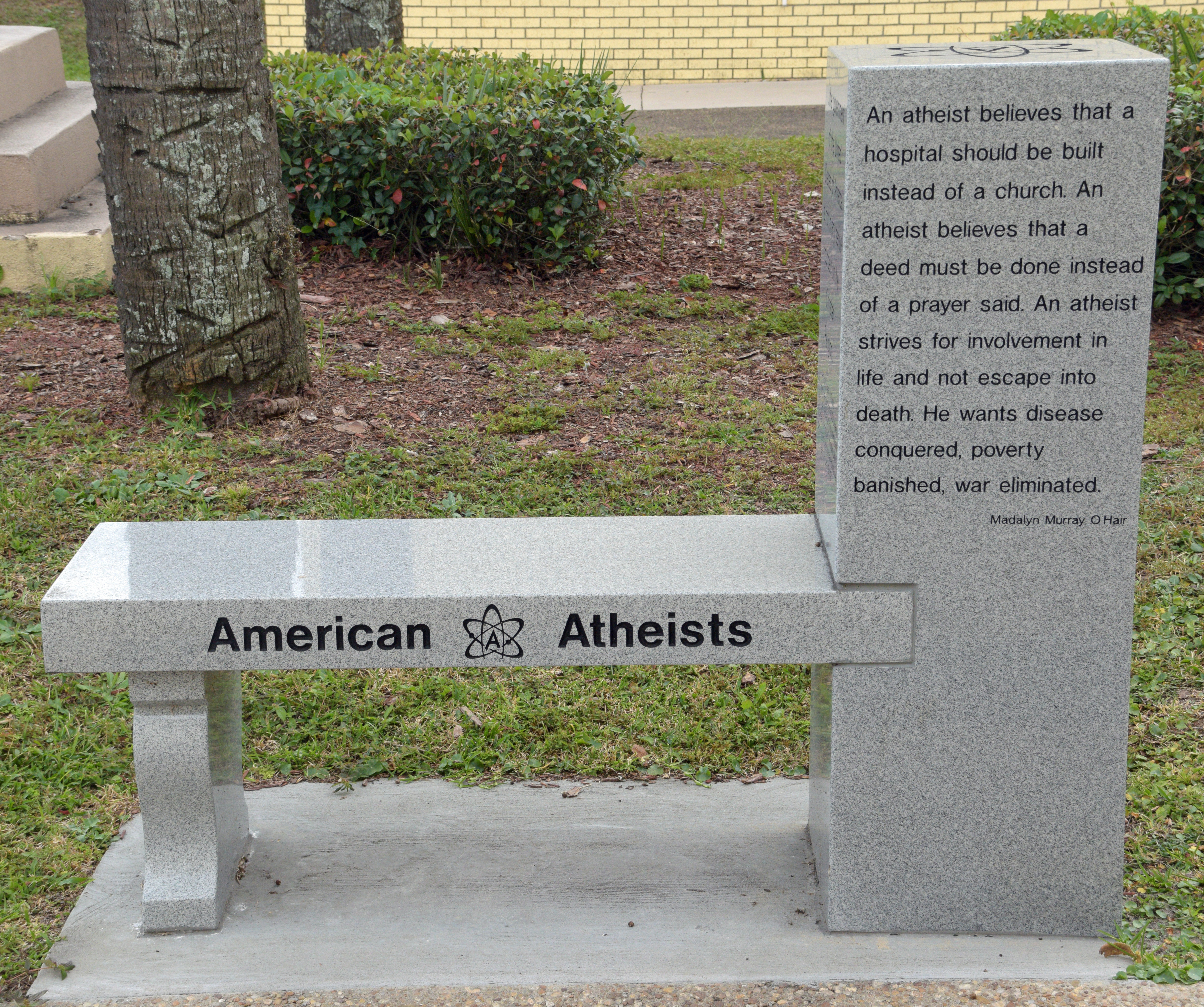 american athesist American atheists, cranford, nj 389,504 likes 2,325 talking about this american atheists is a nationwide non-profit organization that advocates for.
