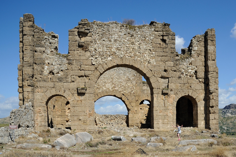 File:Aspendos Basilica Antalya Turkey.jpg