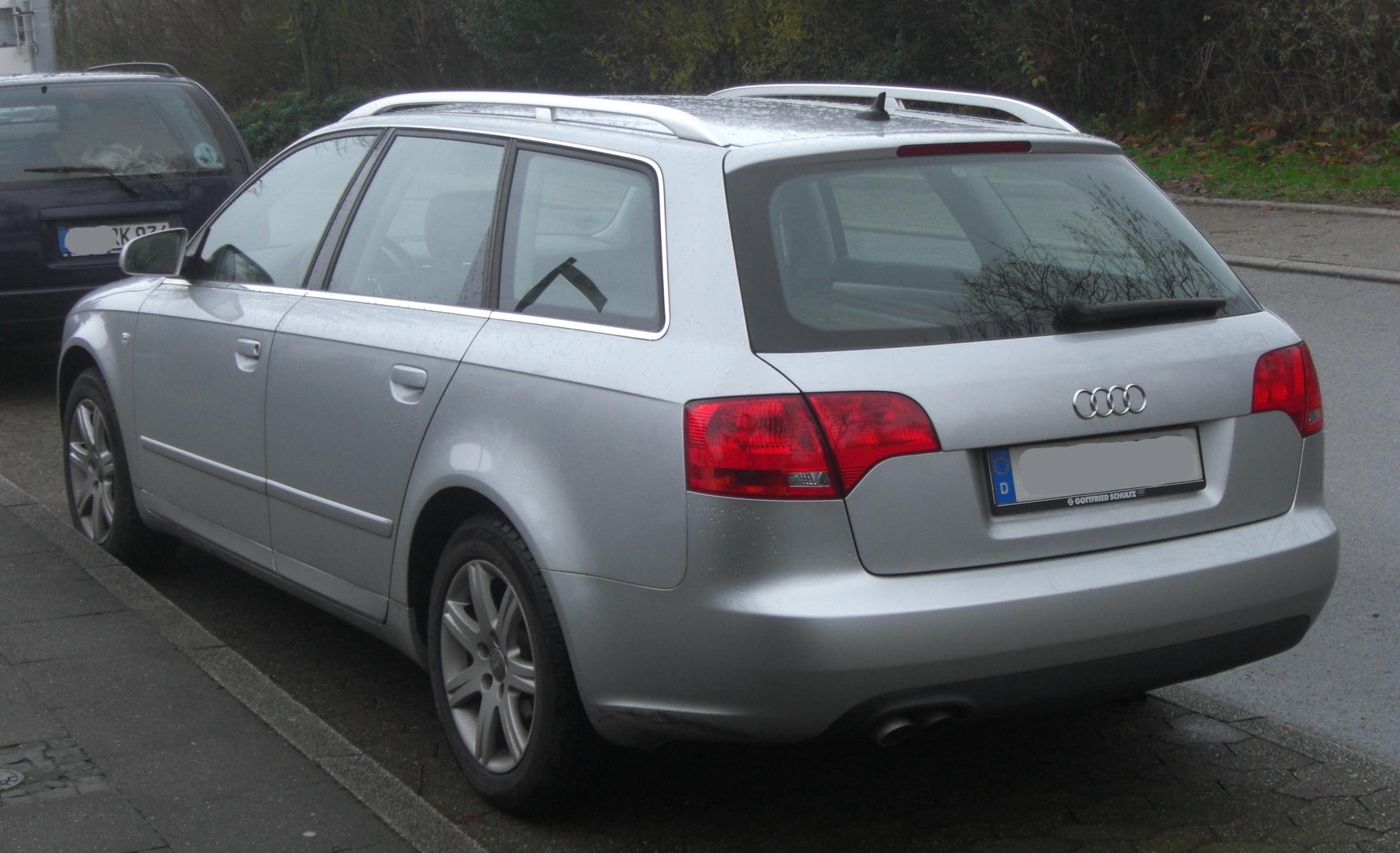 File Audi A4 Tdi Avant B7 Facelift 2004 2008 Rear Mj
