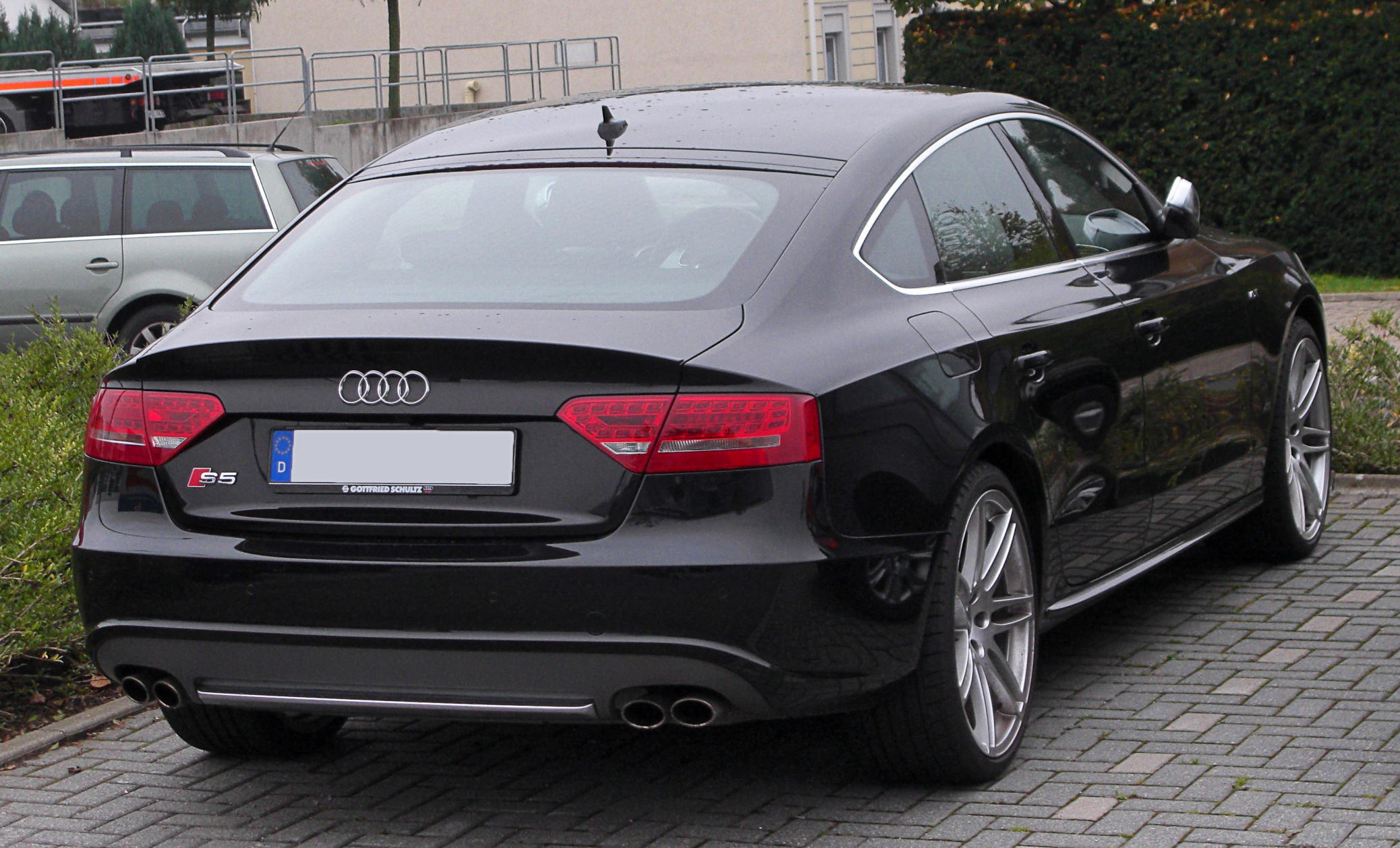 FileAudi S5 Sportback rear 20101017jpg  Wikimedia Commons