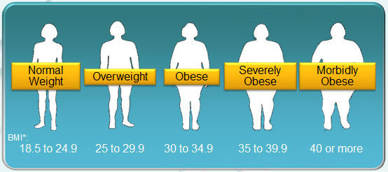 BMI weight obesity scale