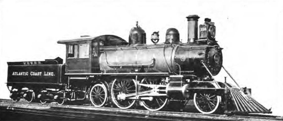 Columbia 2-4-2 Steam Loco