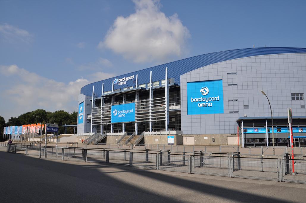 Barclaycard Arena in Hamburg