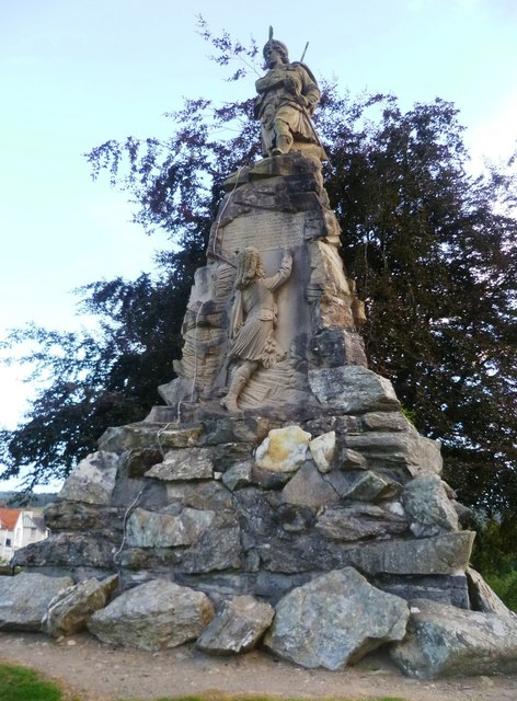 Black Watch Memorial, Aberfeldy