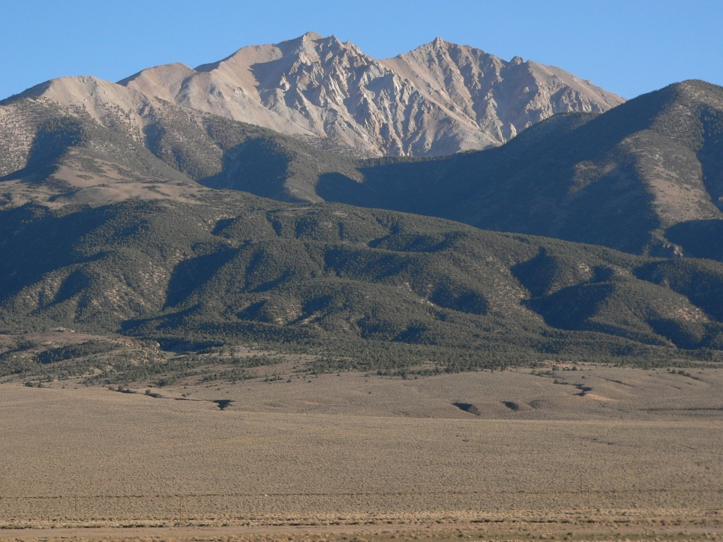 List Of Mountain Peaks Of Nevada Wikipedia