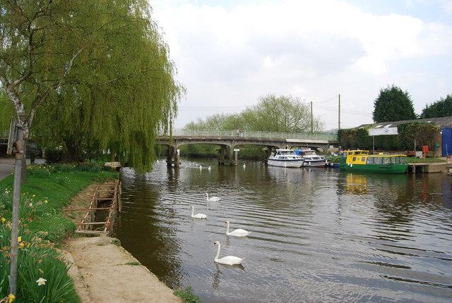 Bow Bridge Wateringbury - geograph.org.uk - 1267090