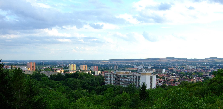 Brno - Židenice z Vinohrad