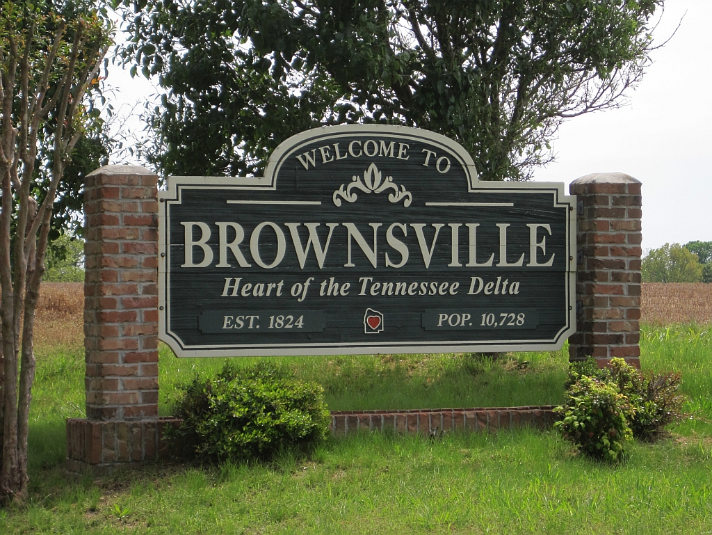Brownsville (TN) United States  city photos gallery : Populated places in Haywood County, Tennessee