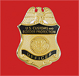English: CBP Officer badge