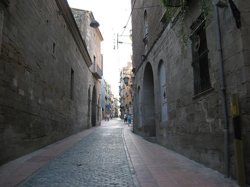 Calle Caballeros de Lleida