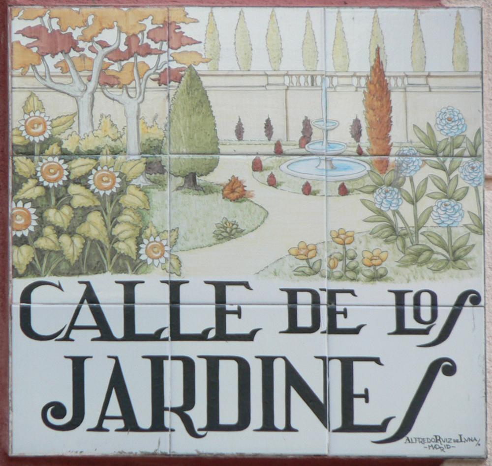 Calle de los jardines wikipedia la enciclopedia libre for Jardines 29 madrid