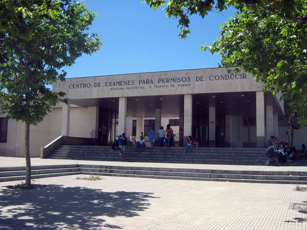 File centro de ex menes de la jpt de - Jefatura provincial de trafico madrid ...