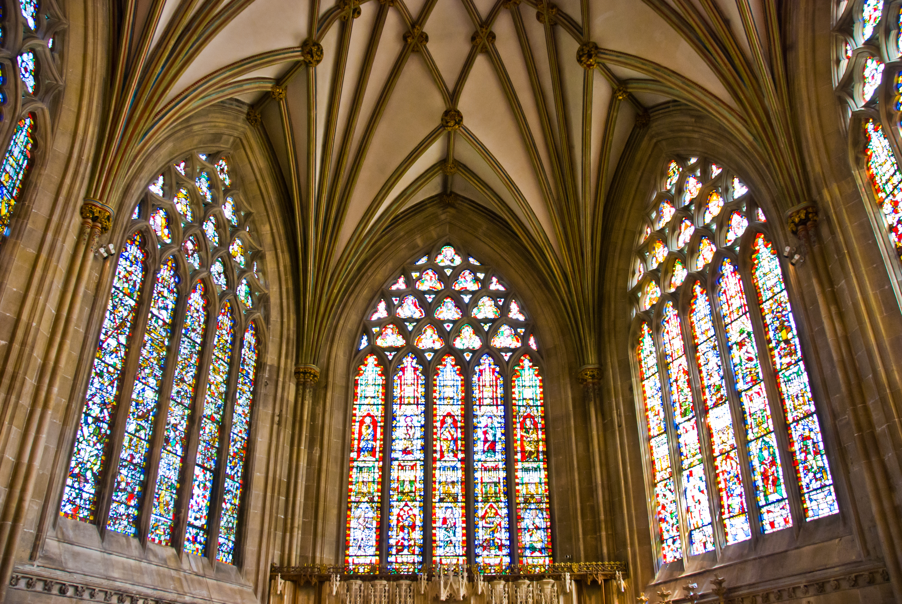 The Medieval Stained Glass of Wells Cathedral (BAR)