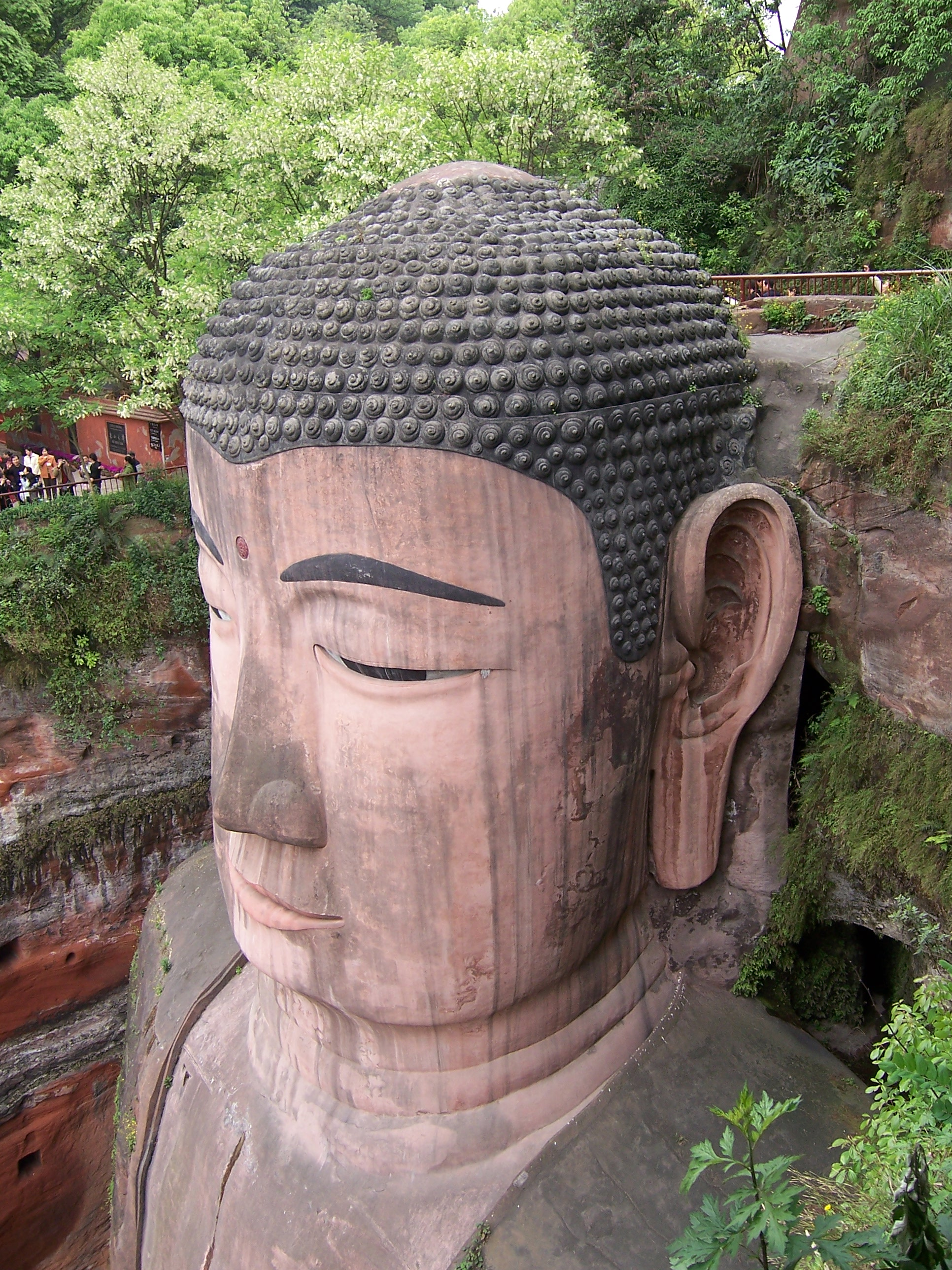 Leshan China  city photo : China Leshan 17 Giant Buddha 135958720 Wikimedia ...