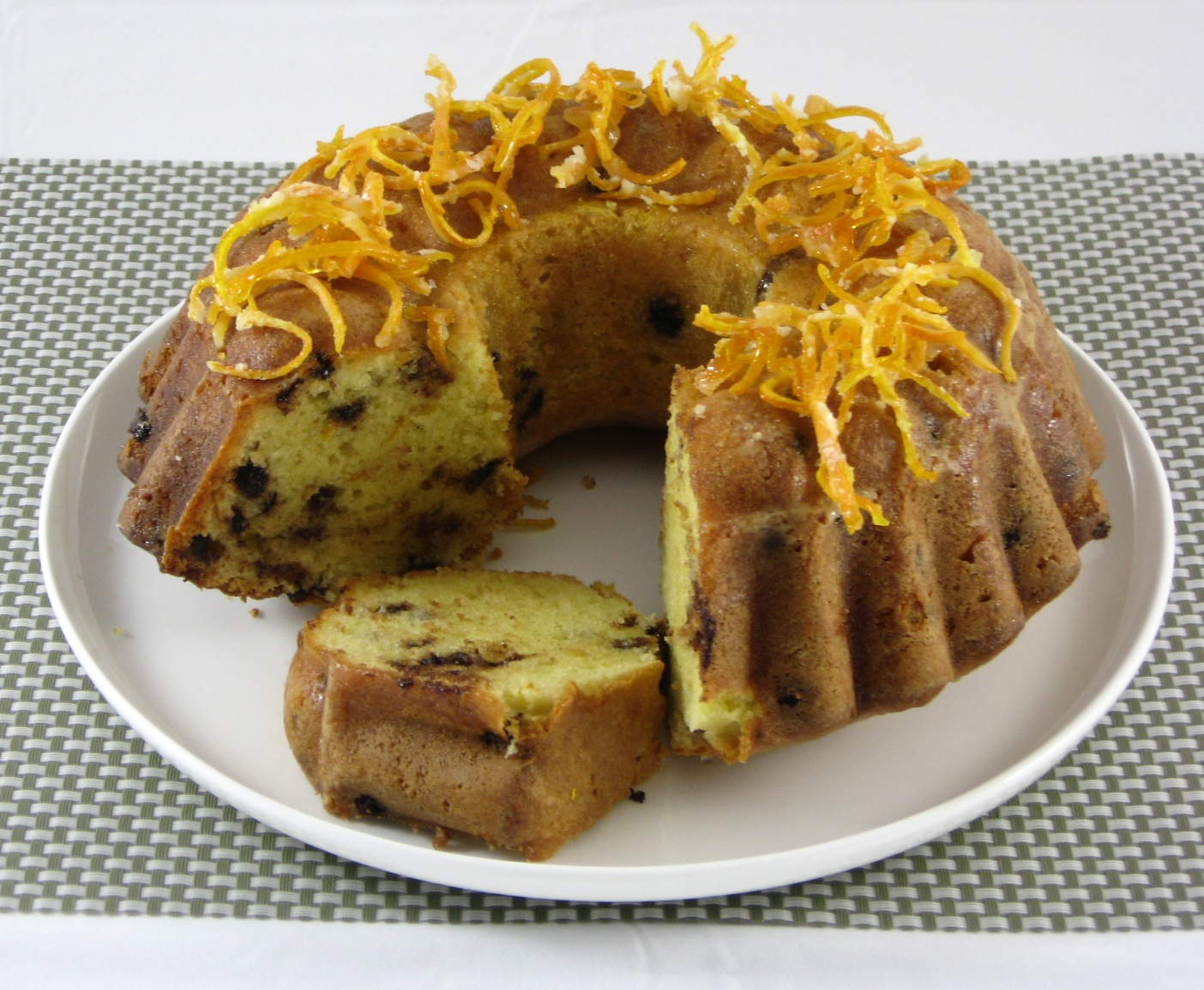Pound Cake With Orange Zest