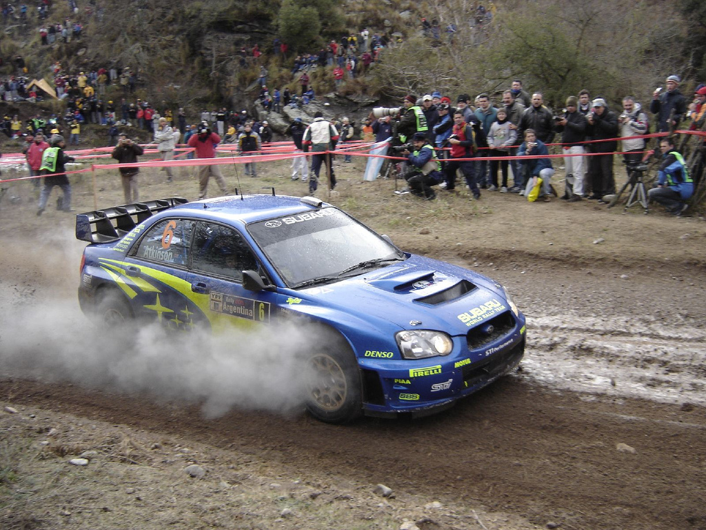 Chris Atkinson Rally Argentina
