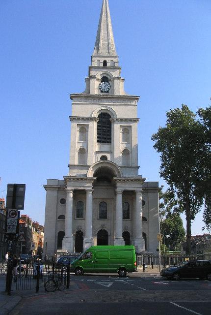 Spitalfields London: File:Christ Church, Spitalfields