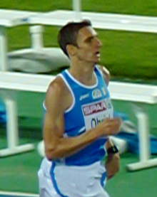 Christian Obrist at the 2010 European Athletics Championships