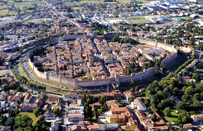 Cittadella italia wikipedia for Grandi planimetrie