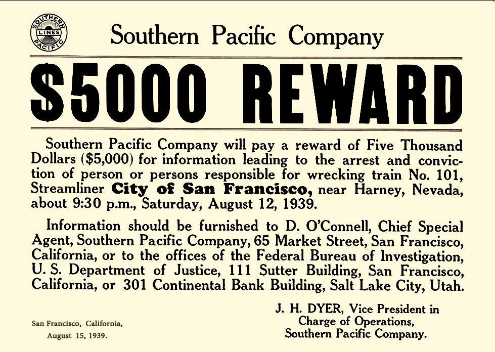 1939 City of San Francisco derailment - Wikipedia