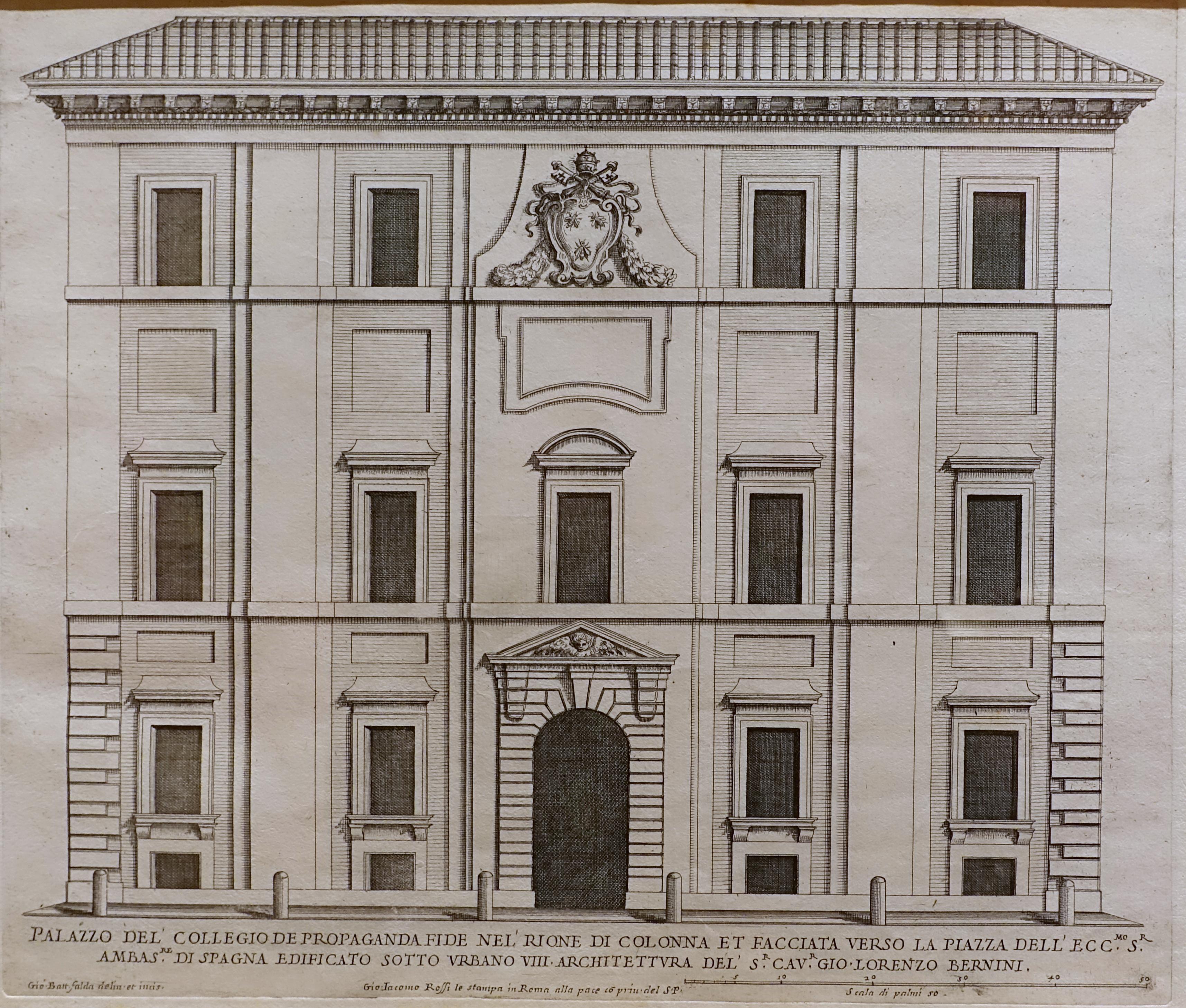 FileCollegio Della Propaganda Fide Print By Giovanni Battista - Jordan schnitzer museum