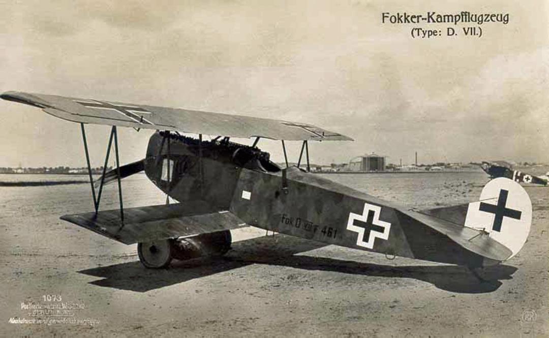 Fokker D. VII - Wingnut 1/32 [TERMINE] D7f