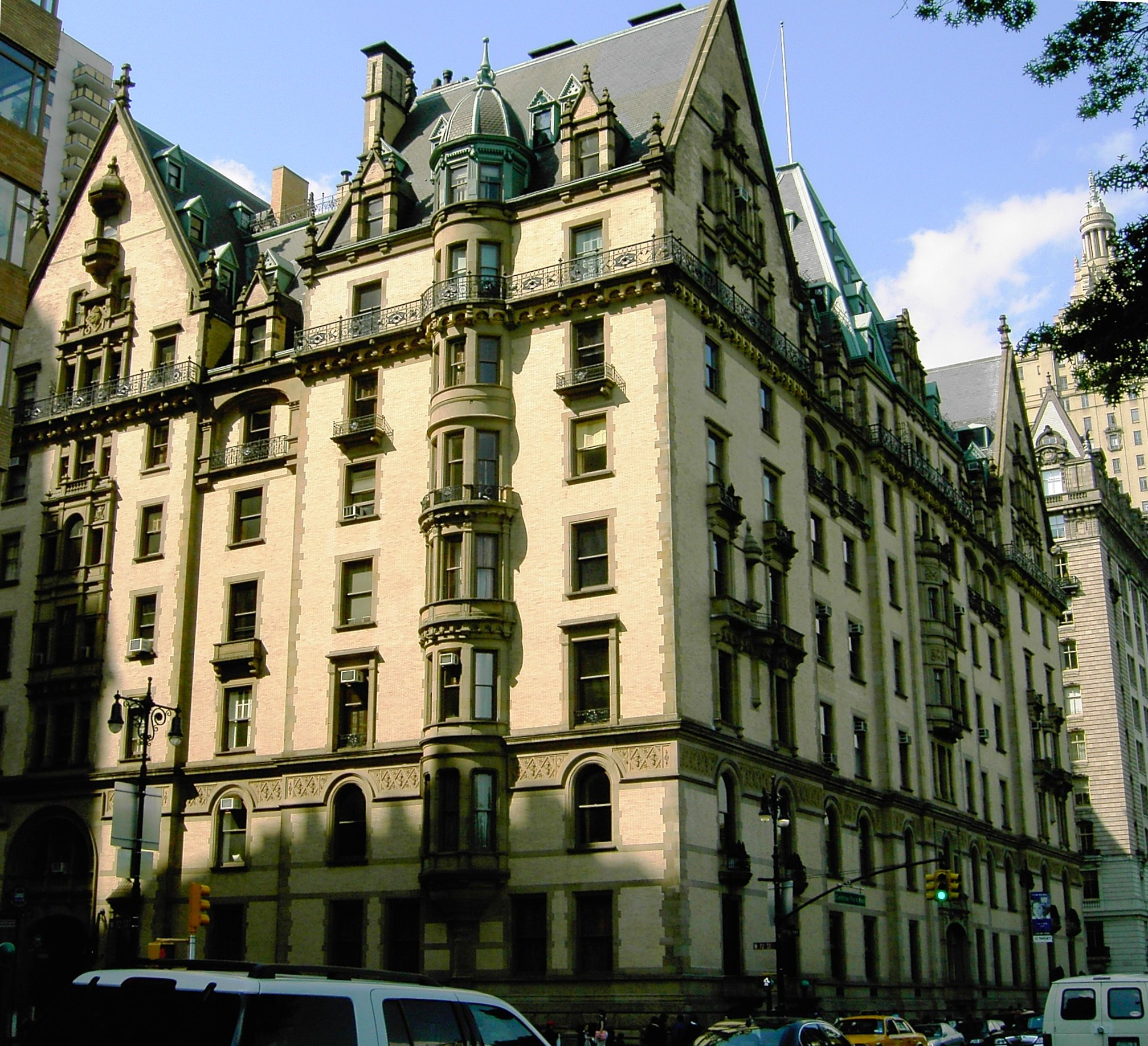 Dakota Apartment Building New York