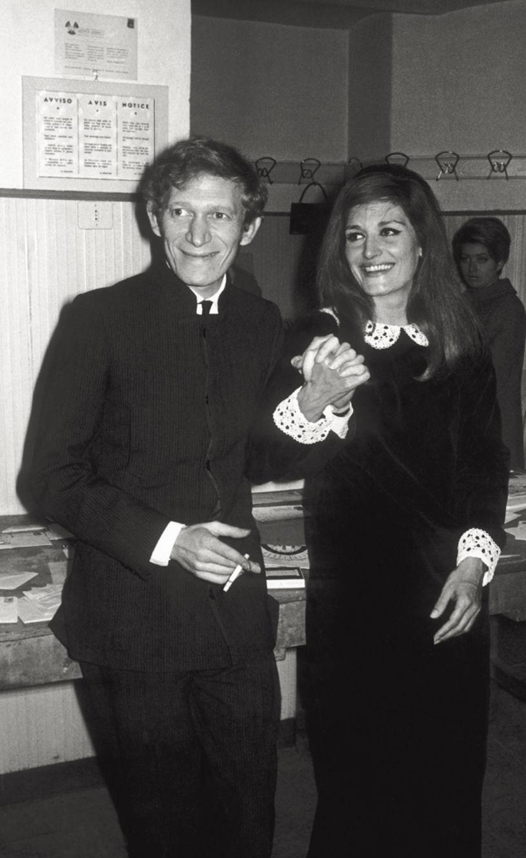 Dalida und Lucien Morisse 1967.