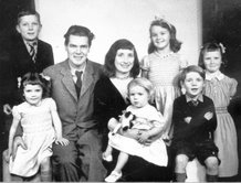Denys Val Baker and family