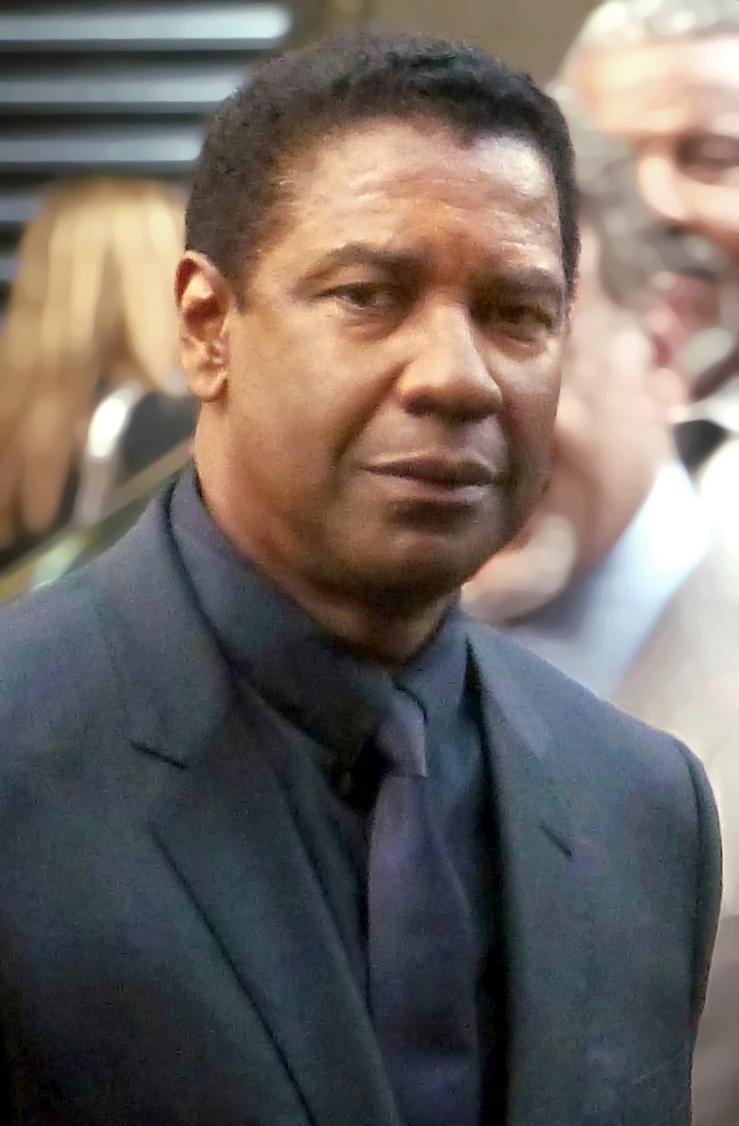 Er 66-år gammel 185 cm høj Denzel Washington i 2021