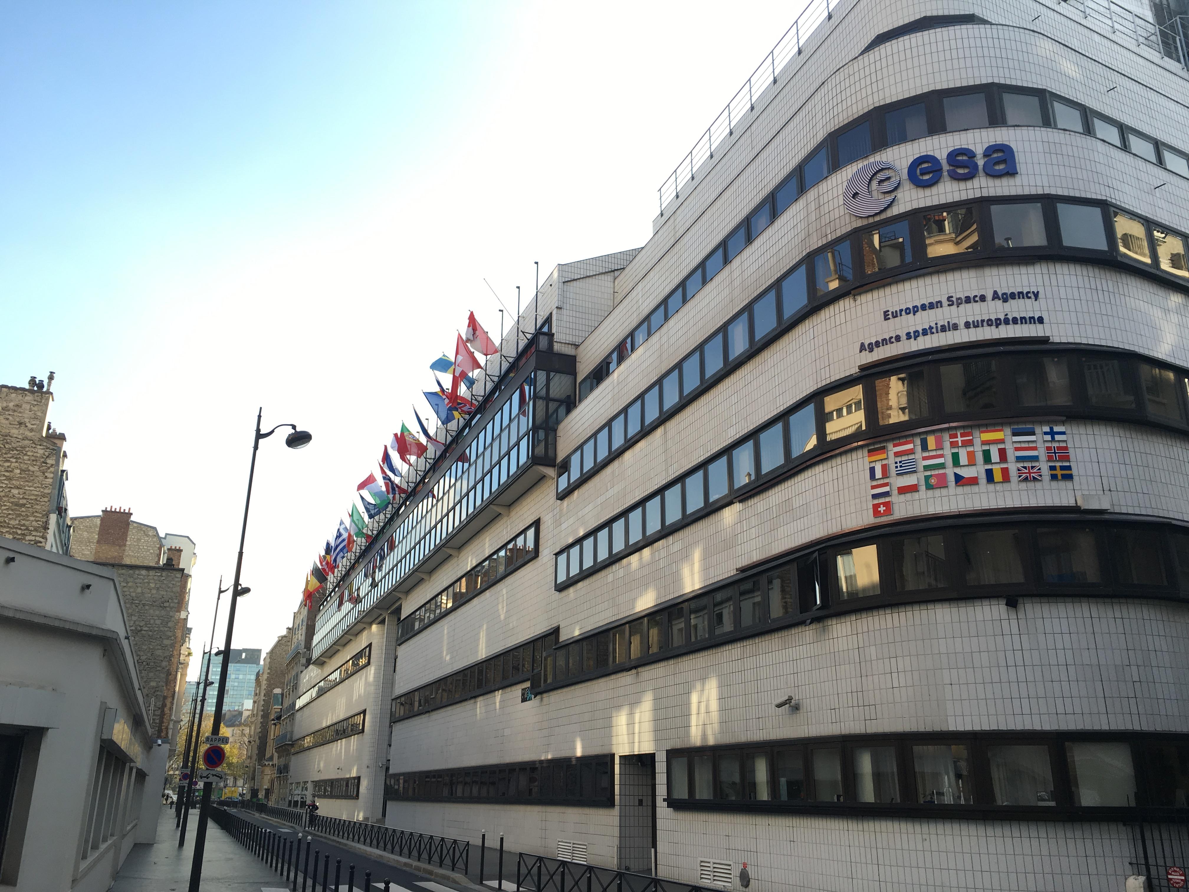 File:ESA Headquarters in Paris, France.JPG - Wikimedia Commons