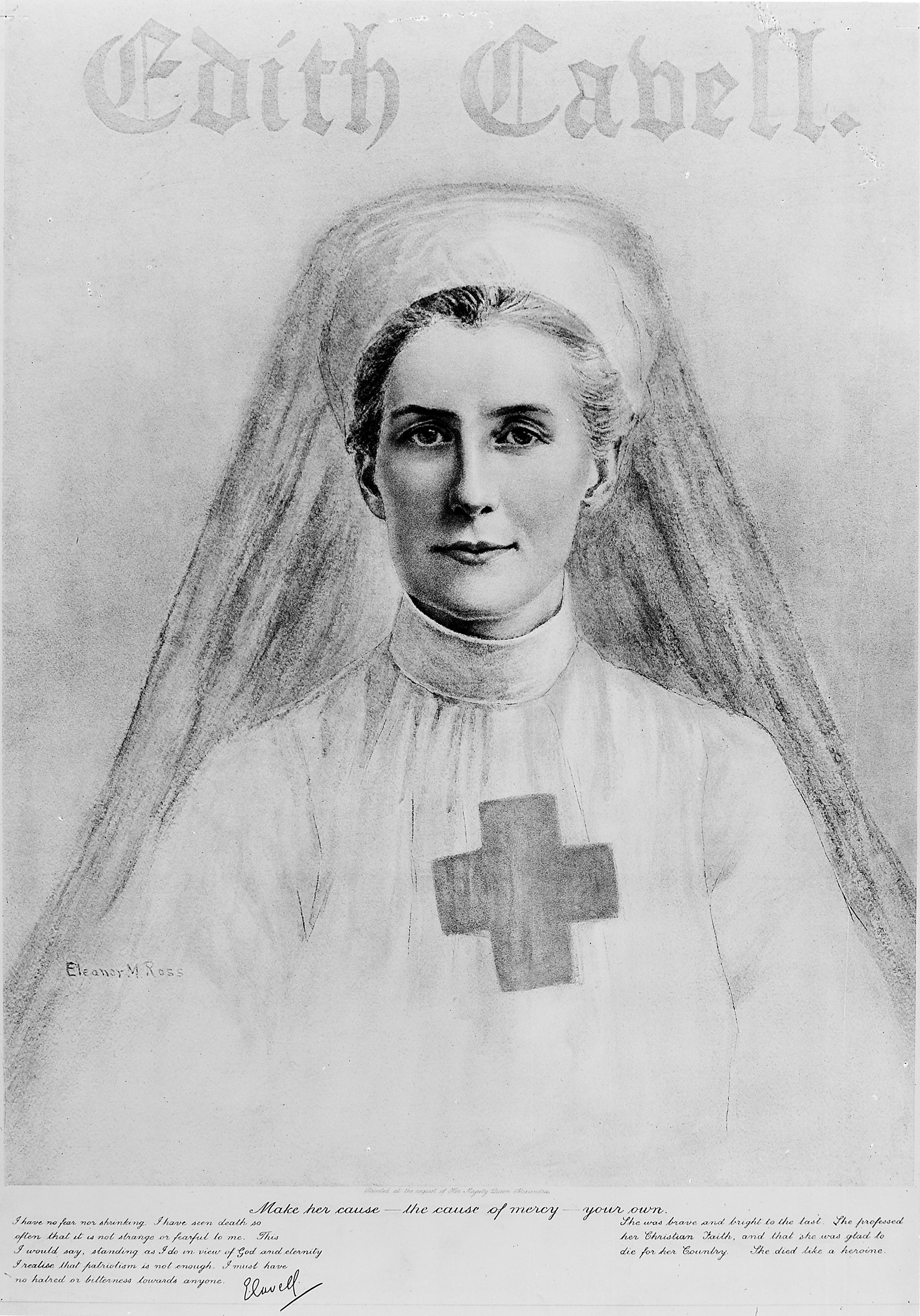 Image result for Edith Cavell