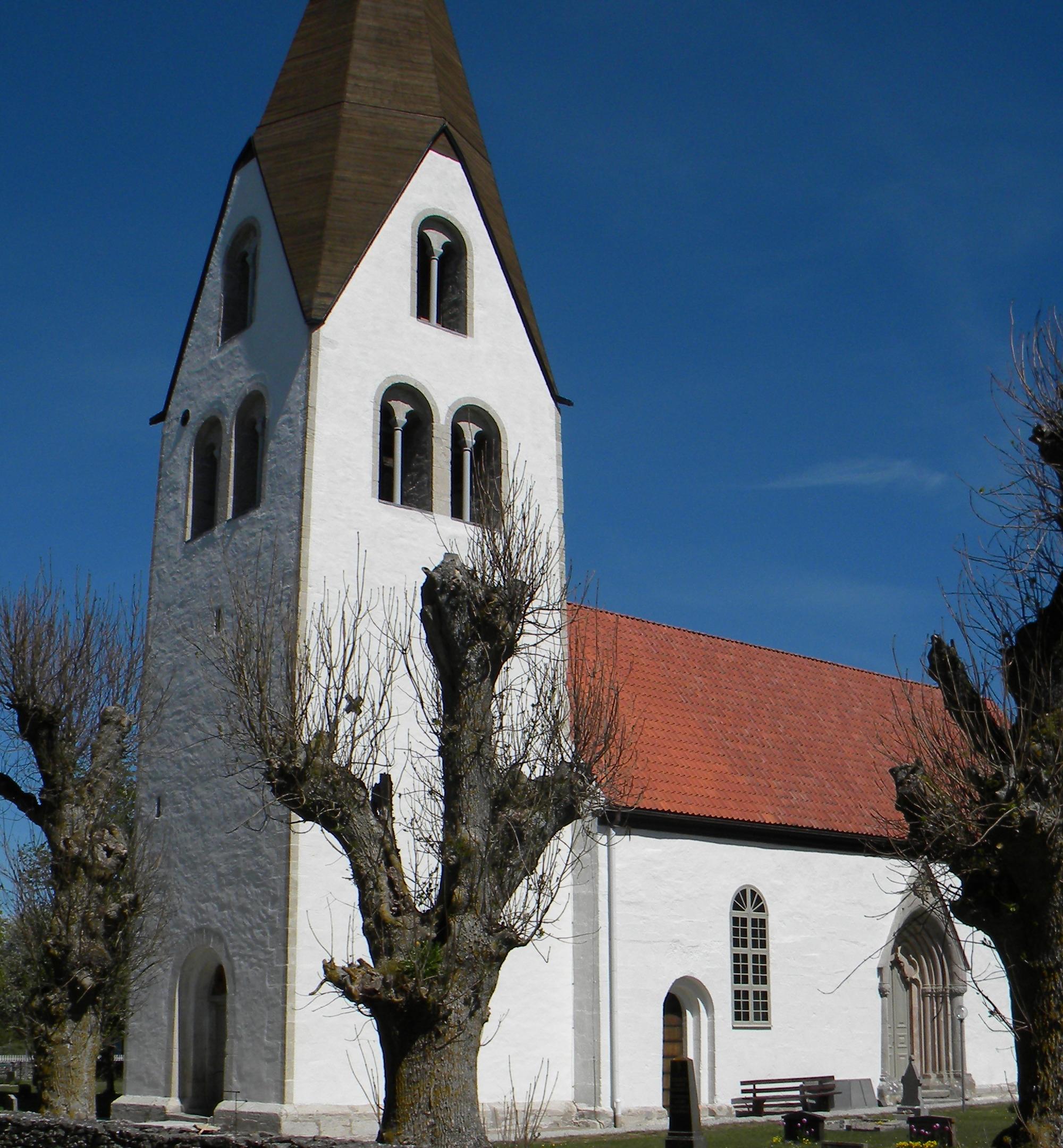 Bild av Eksta kyrka