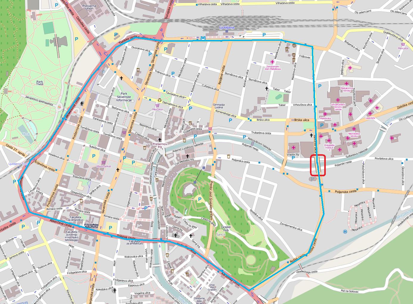 Fabiani Bridge - Wikipedia, the free encyclopedia Ljubljana Map