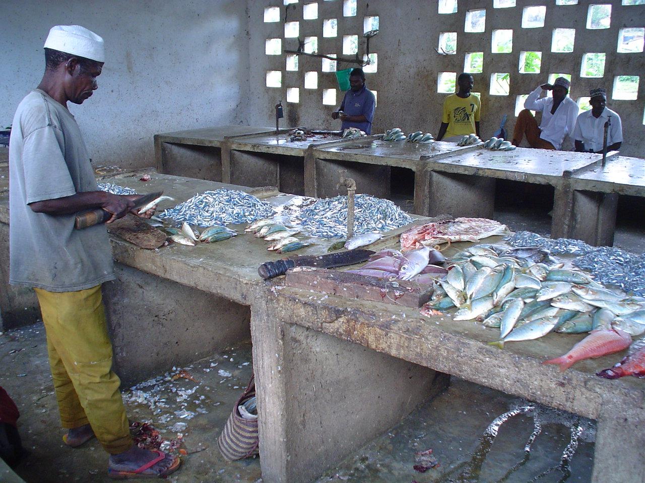 File fish market mkoani pemba island for La fish market
