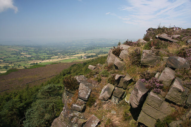 Five Clouds from The Roaches - geograph.org.uk - 906642