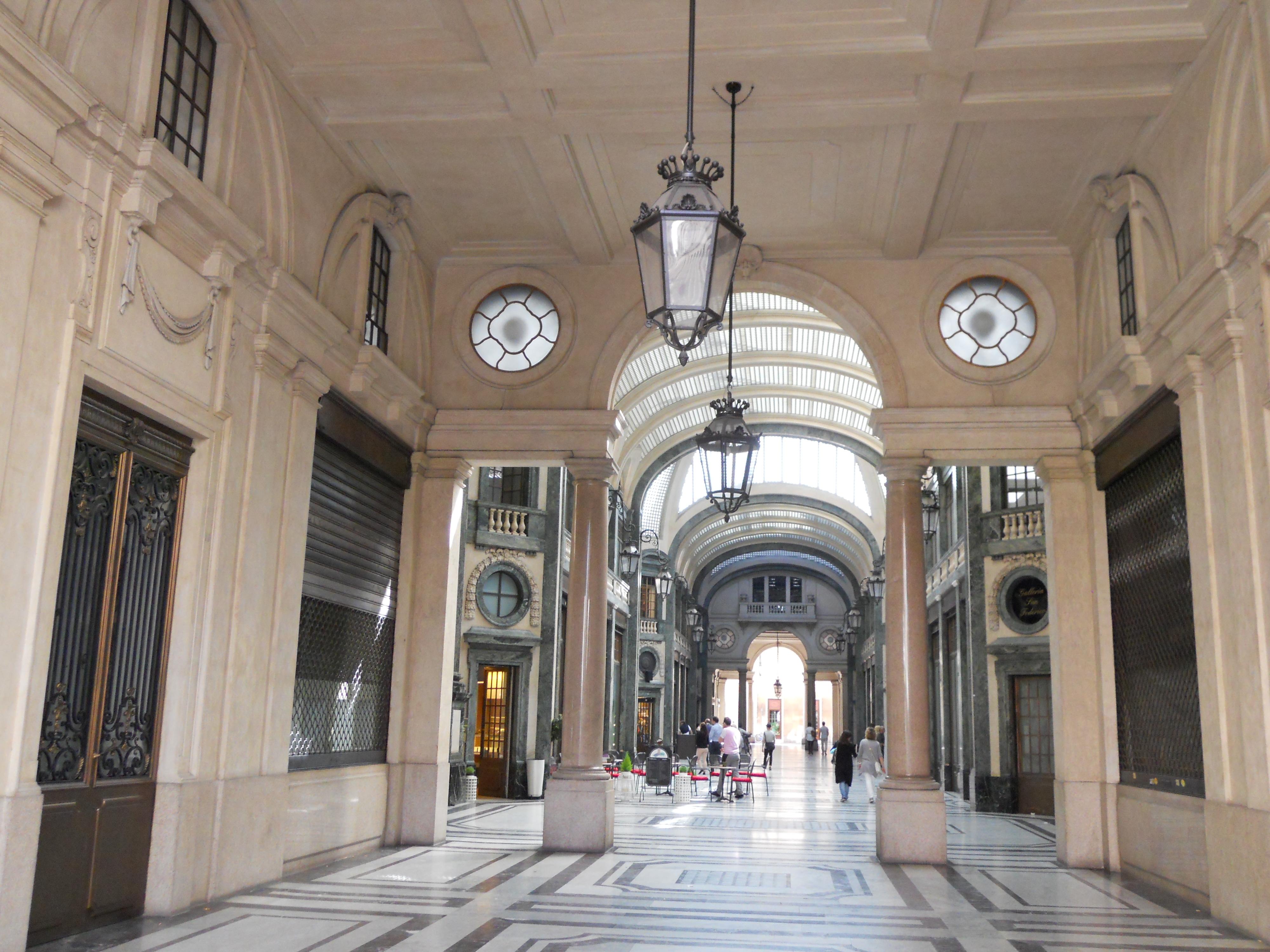 Ristorante La Credenza Galleria San Federico : File:galleria san federico.jpg wikipedia
