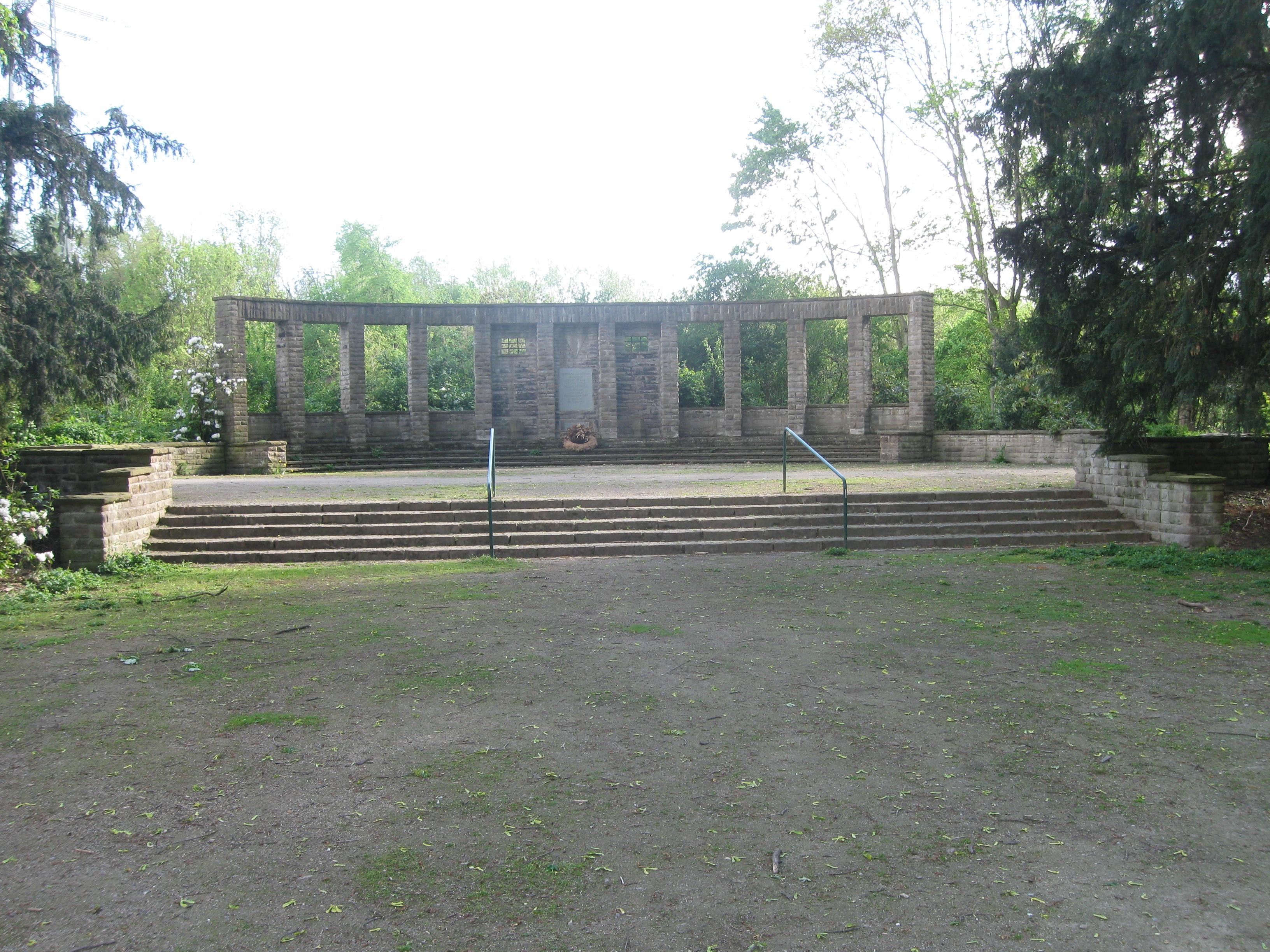 File gelsenkirchen stadtgarten ns mahnmal jpg wikimedia - Stadtgarten hamburg ...