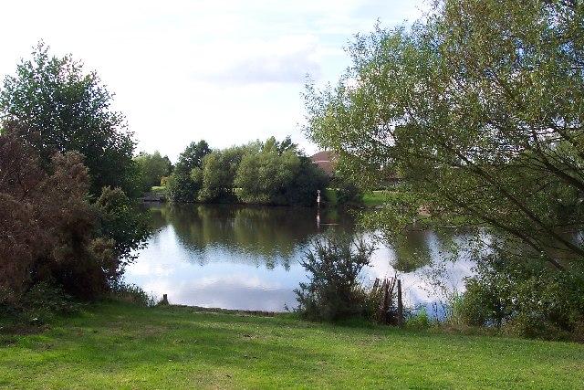Goldsworth Park lake - geograph.org.uk - 45623
