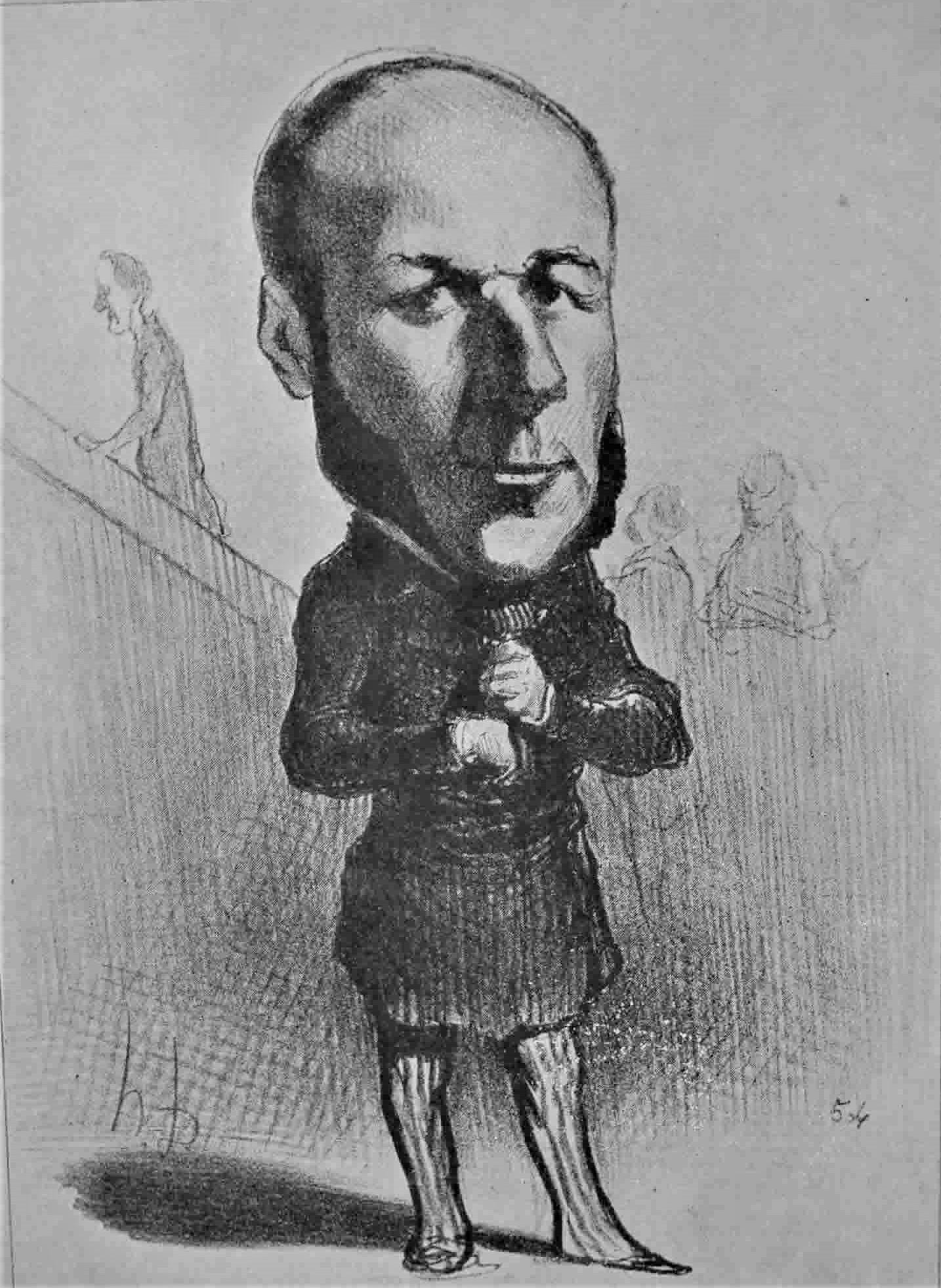 Grévy par Daumier