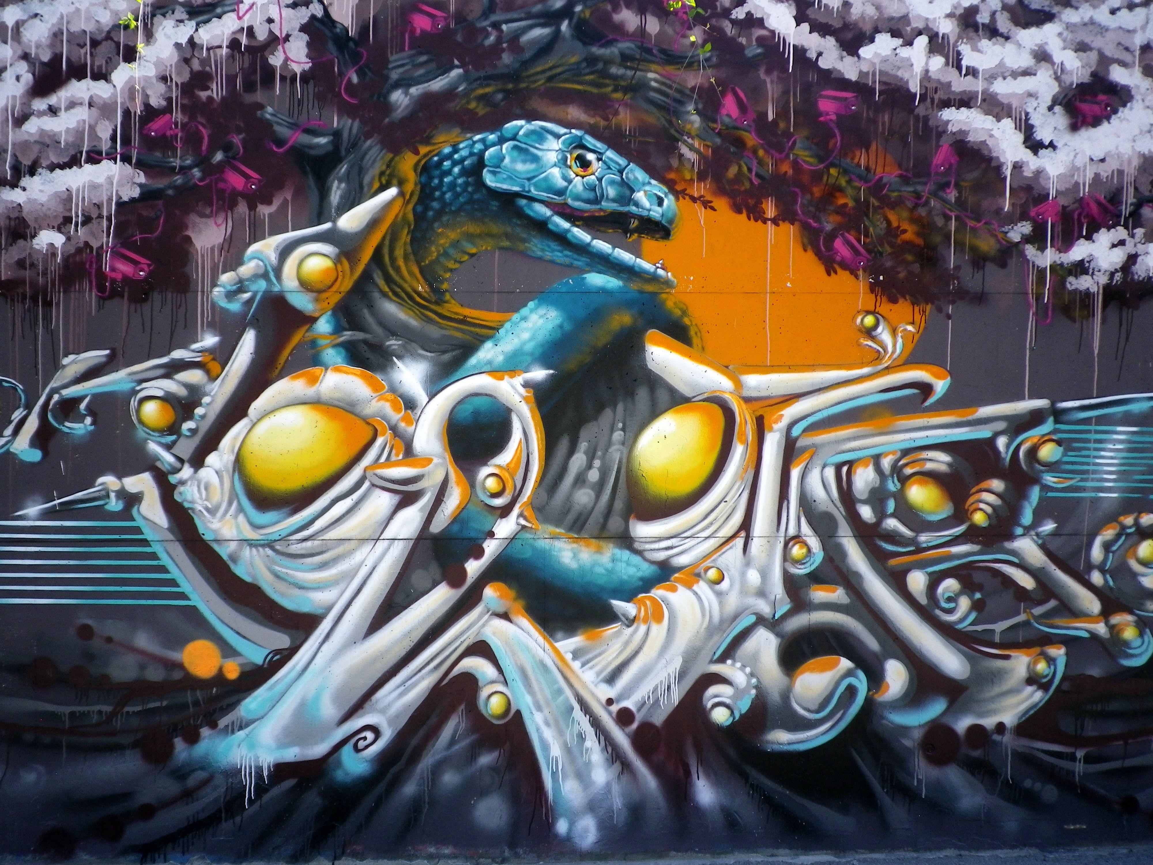 Graffiti aus der Hall of Fame in Ingolstadt - Top 3 các nền văn hóa thú vị trong hip hop có thể bạn chưa biết