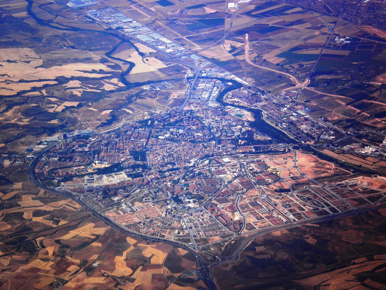 Foto aerea de pueblos 59