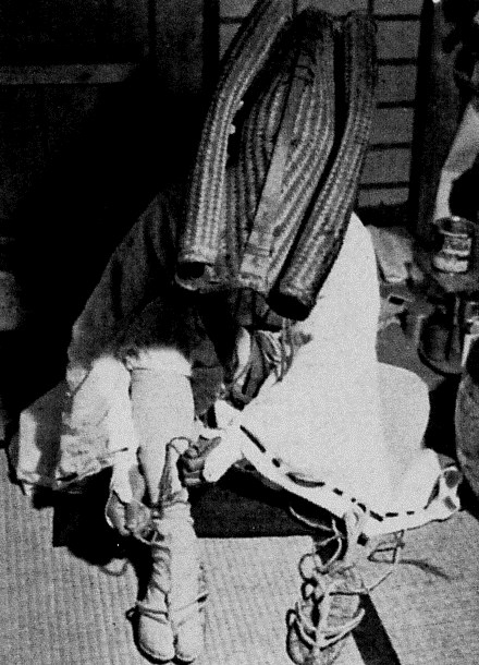 Gyoja wearing a renge-gasa.jpg