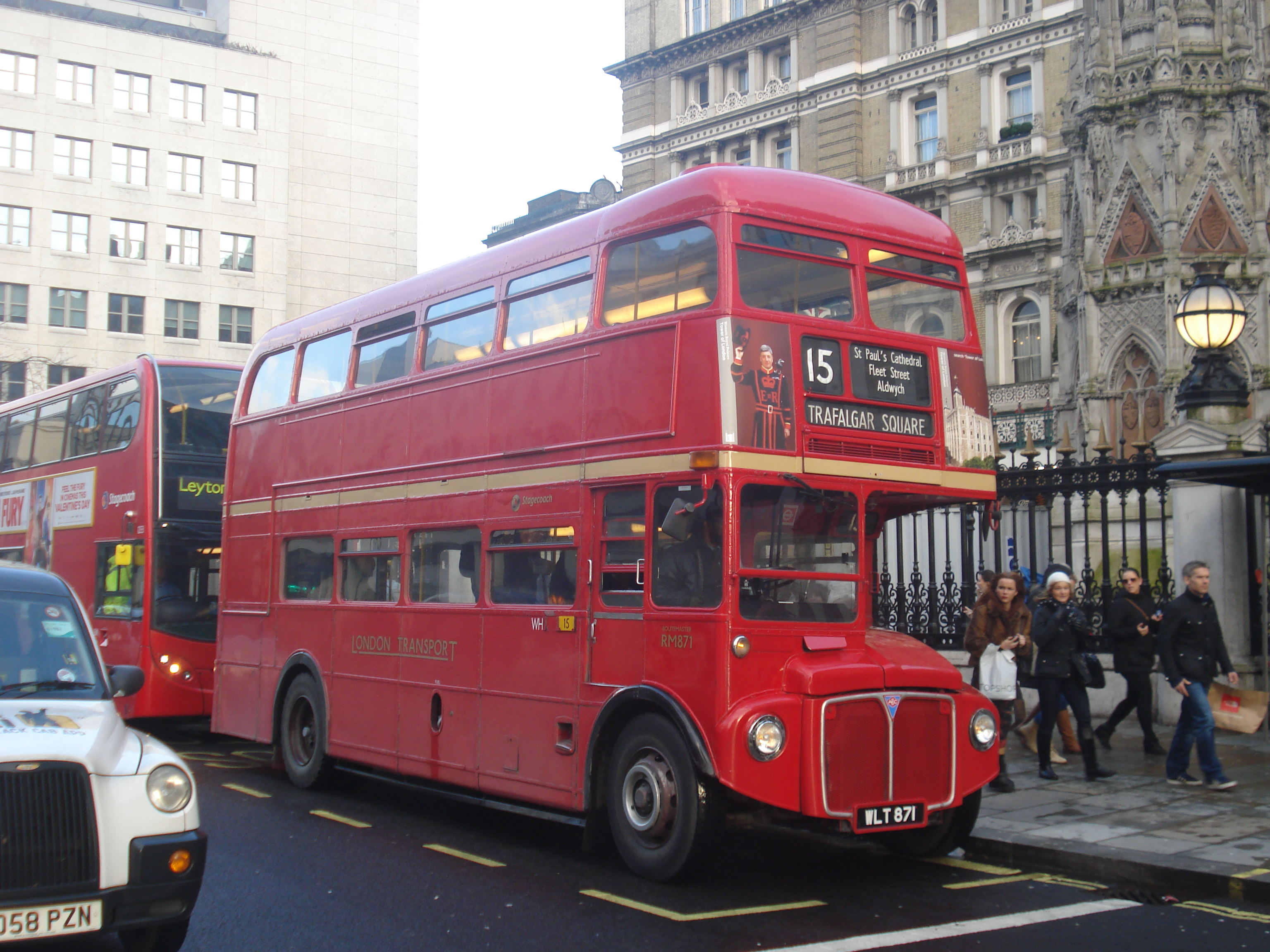 london buses route 15 (heritage) - wikipedia
