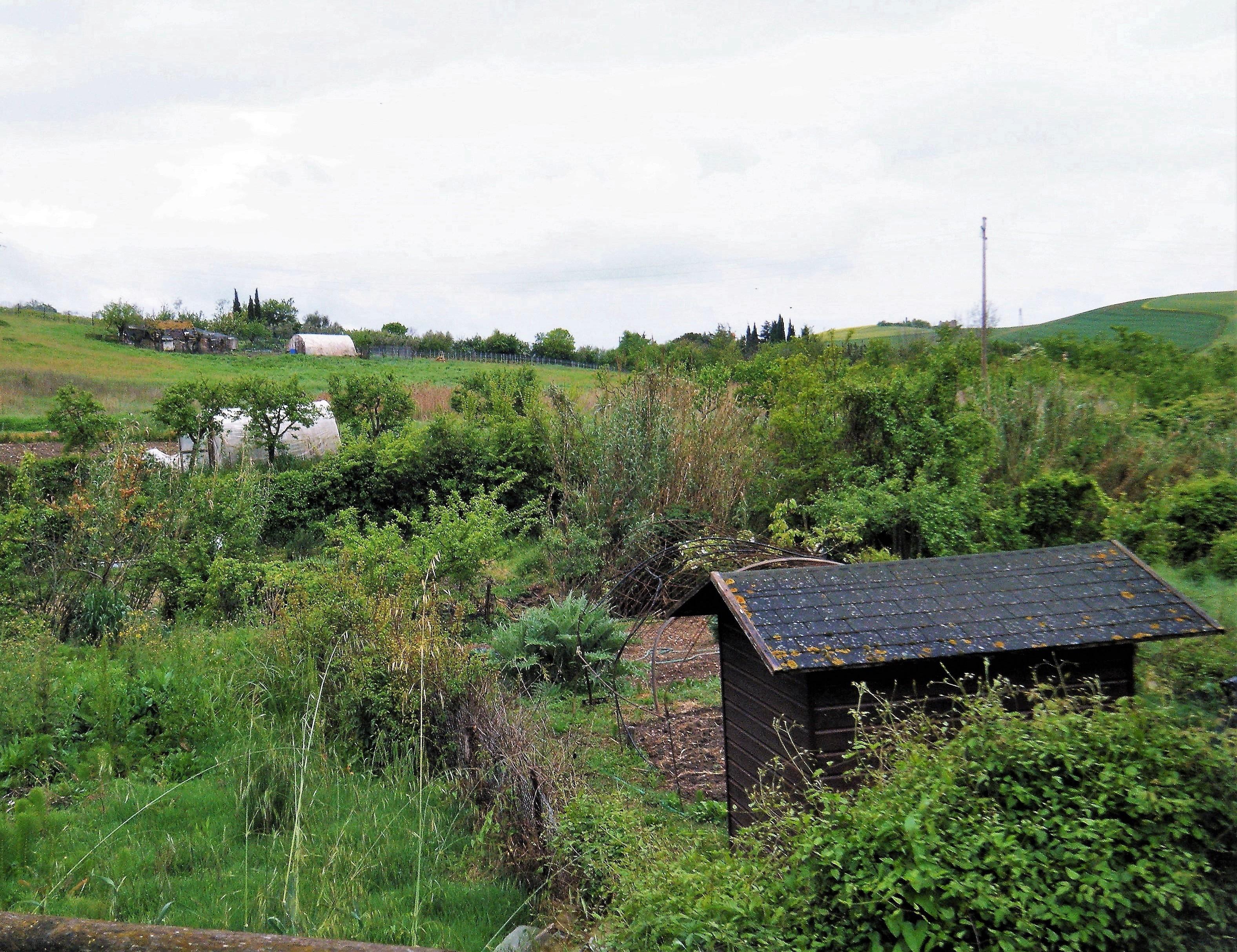 File:Huts and vegetable gardens, San Casciano dei Bagni, Tuscany ...