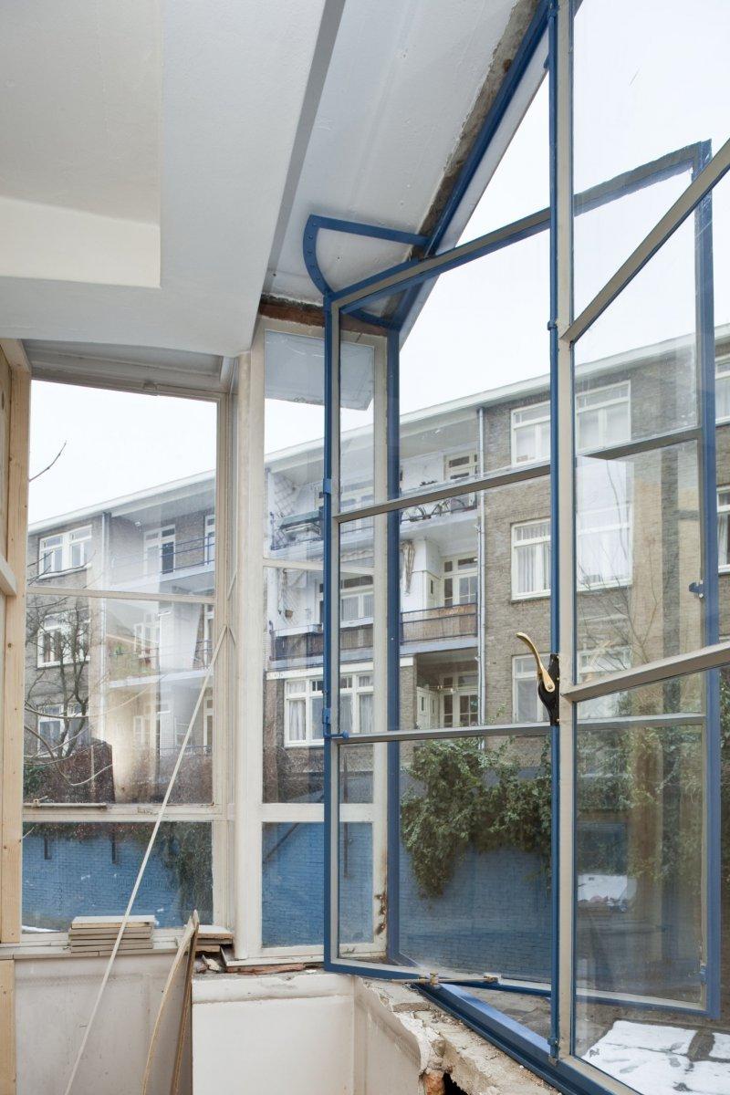 File:Interieur, overzicht van venster uit de jaren 50 met geopend ...