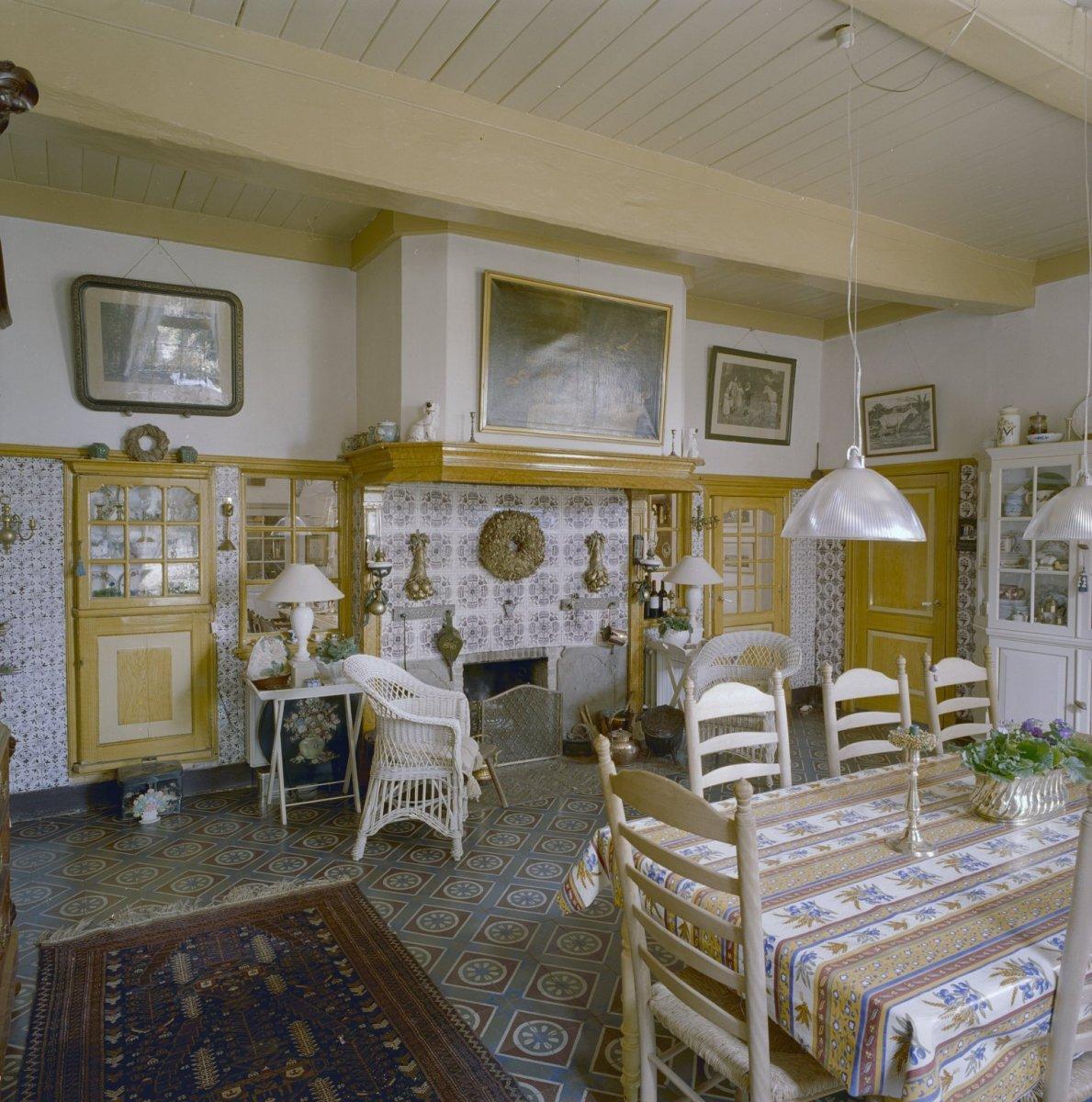 file interieur boerderij overzicht woonkamer markelo