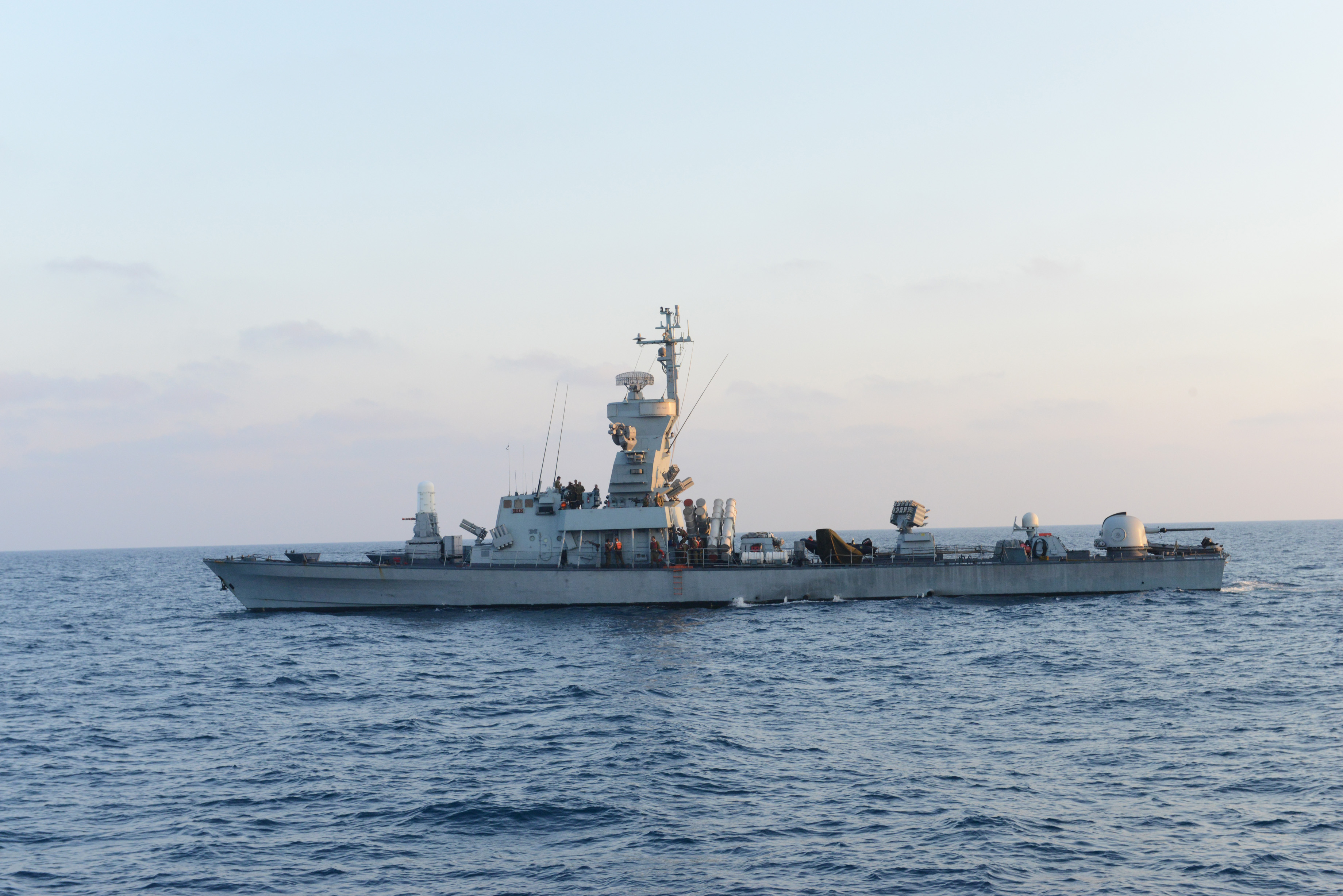 Sa'ar 4 5-class missile boat - Wikipedia