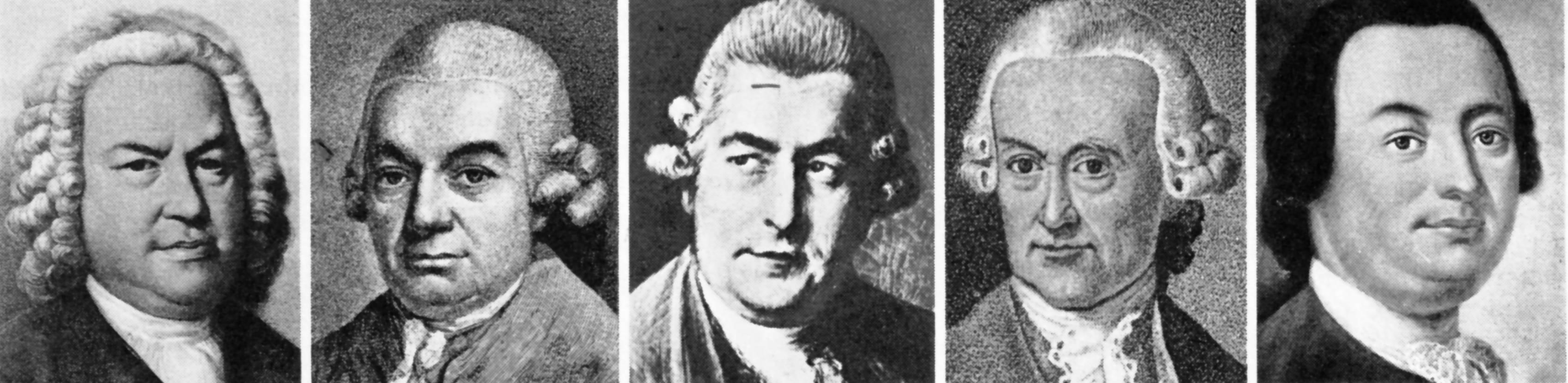 Description JohannSebastianBach1685-1750UndSoehne jpgJohann Sebastian Bach Family