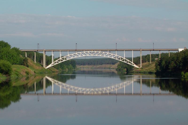 Железнодорожный мост Википедия